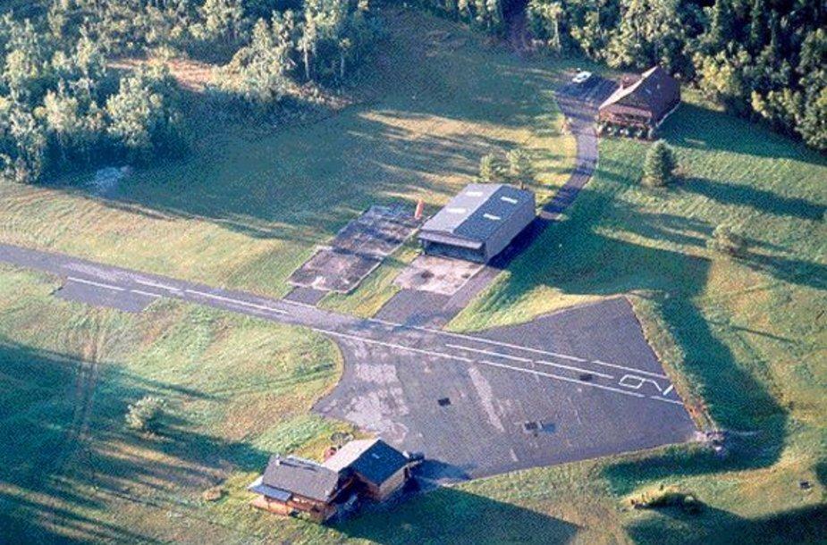 Namas virš buvusios branduolinių raketų saugyklos