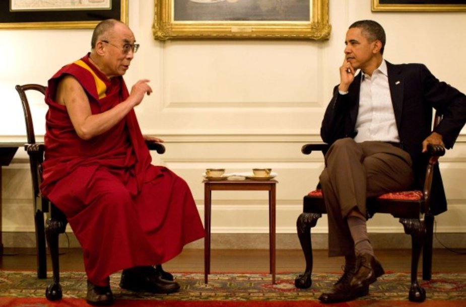 Dalai Lama ir Barackas Obama