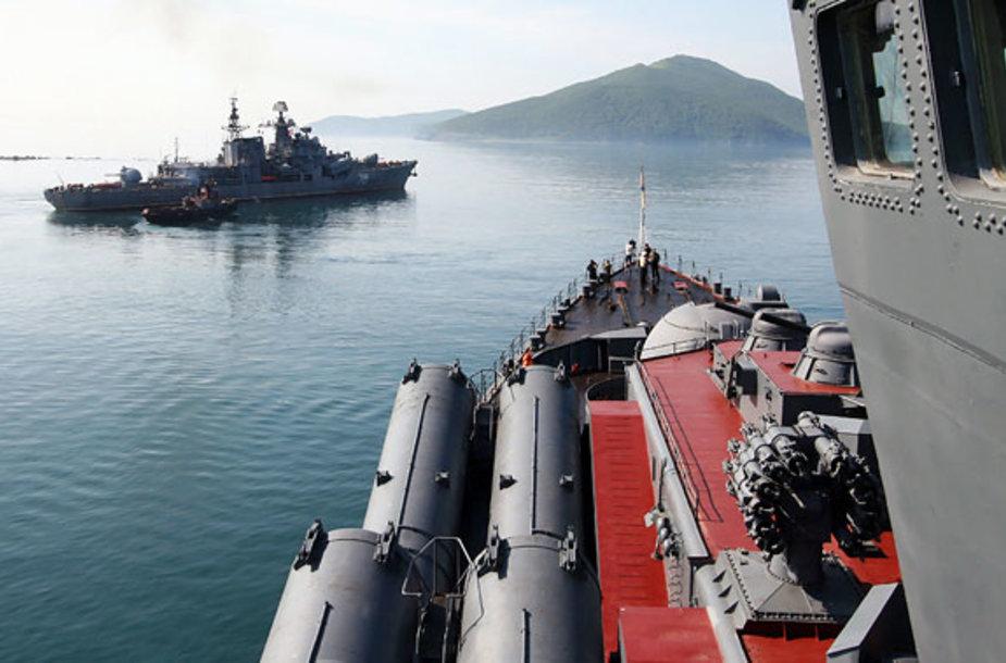 Rusijos Ramiojo vandenyno laivynas