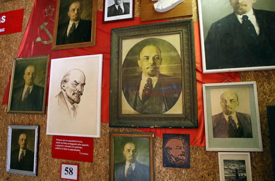 Lenino portretai Grūto parke