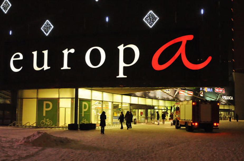 """""""Europos"""" prekybos centras"""