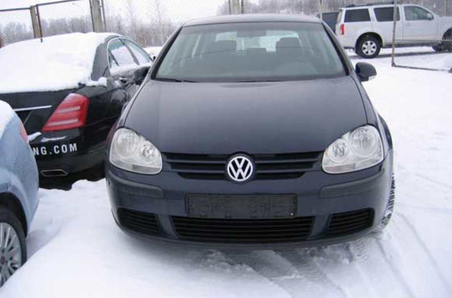 "Olandijoje vogtas automobilis ""Volkswagen Golf"""