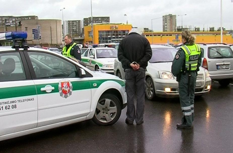 Policijos operacija Vilniuje