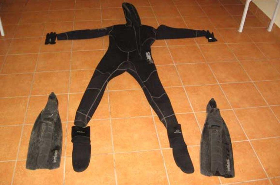 Neperšlamas kostiumas