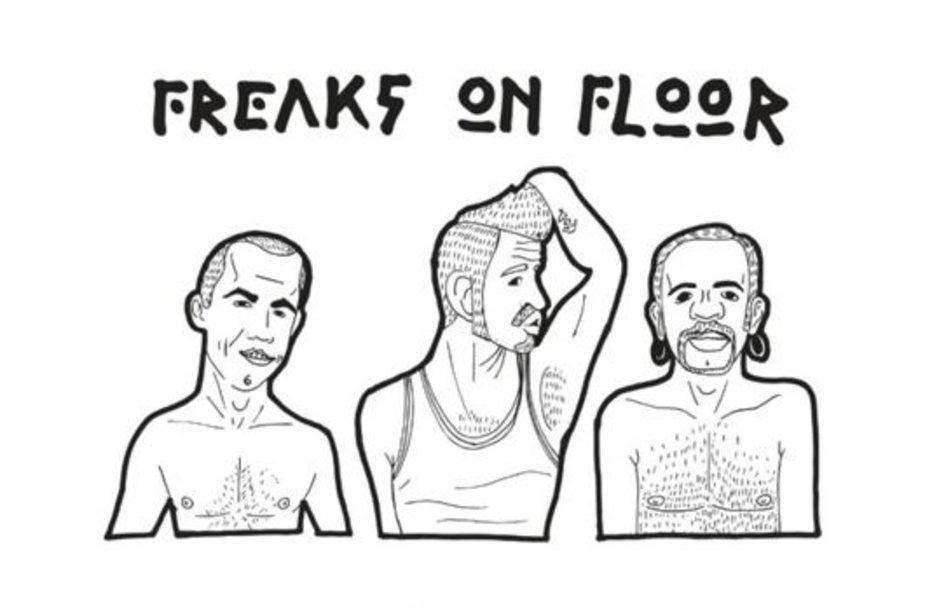 """""""Freaks on Floor"""" derina gitaras pirmam akustiniam pasirodymui """"Marse""""."""