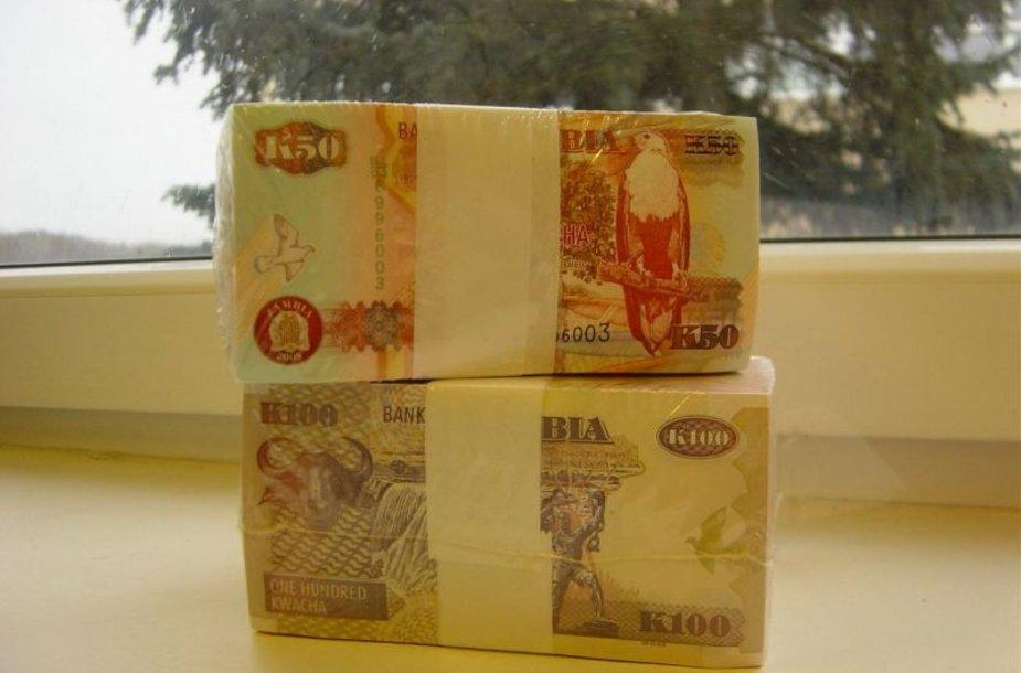 Pašto siuntoje – 150 tūkst. Zambijos kvačų.