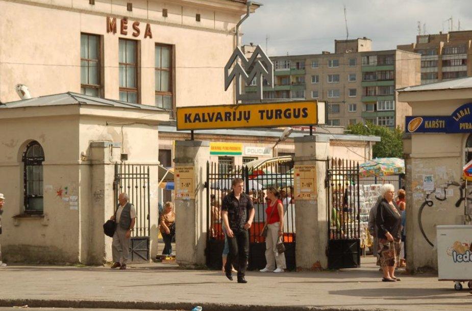 Kęstučio Šimo fotografijų parodoje puikuosis Kalvarijų gatvės vaizdai.
