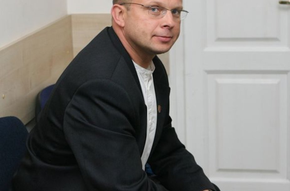 Žemaičių partijos pirmininkas Egidijus Skarbalius