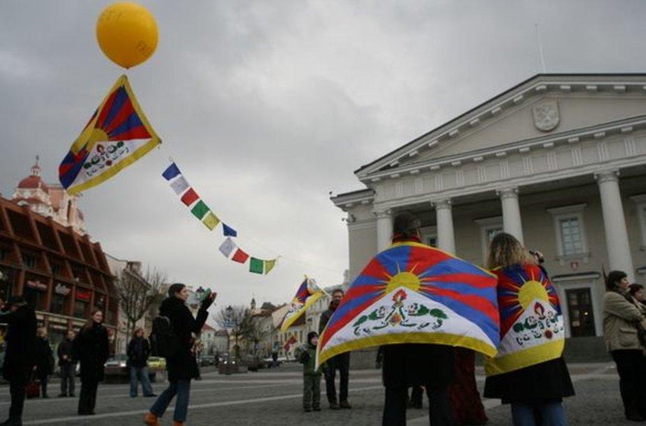 Tibeto vėliavos