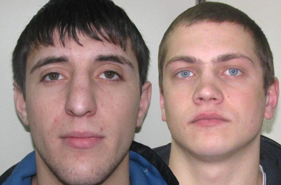 Saidas Agamerzaevas (kairėje) ir Edgaras Ašmonas