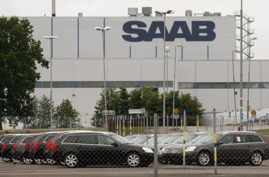 """""""Saab"""" gamykla"""