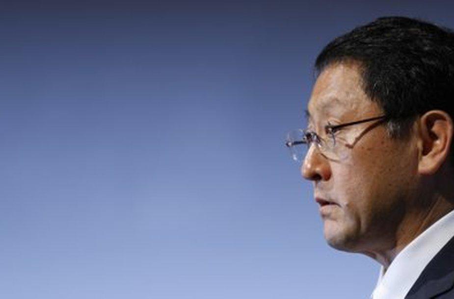 "Naujasis ""Toyota Motor Corp's"" prezidentas Akio Toyoda"