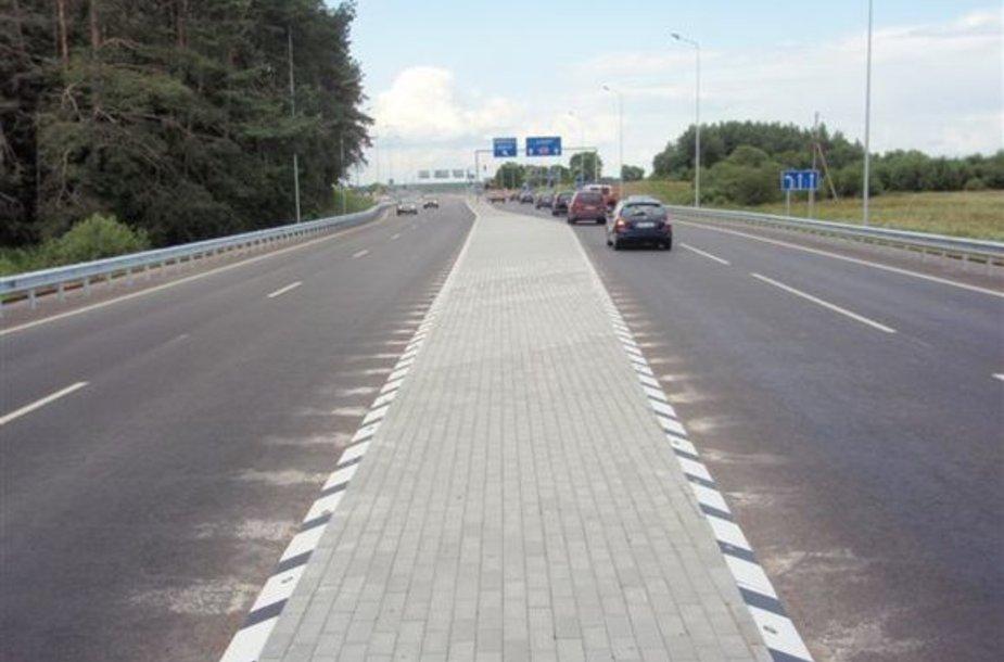 Kelias po rekonstrukcijos