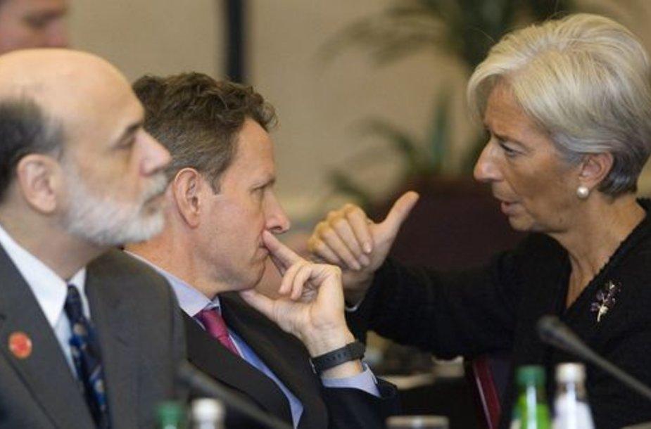Škotijoje susirinkę G20 finansų ministrai diskutuoja ekonomikos ir klimato kaitos klausimais.
