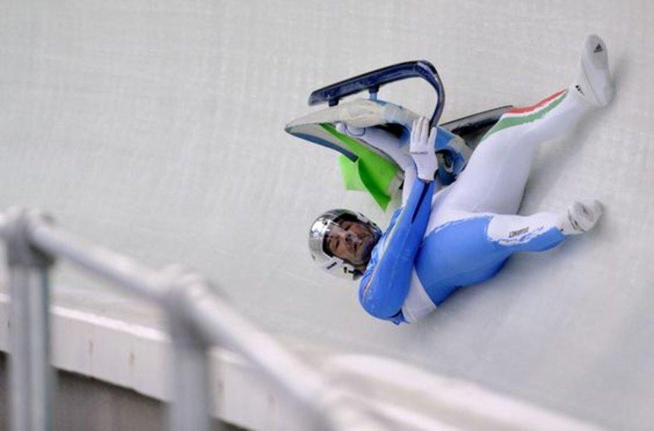Vistlerio trasoje rogučių nesuvaldė ir pirmąją vietą pasaulio reitinge užimantis Arminas Zoeggeleris.