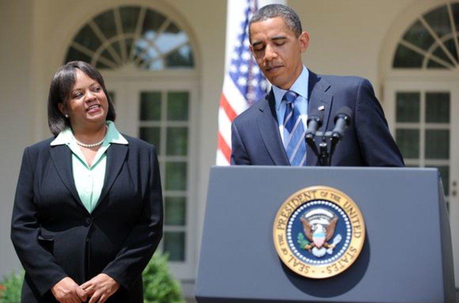 Regina Benjamin ir Obama