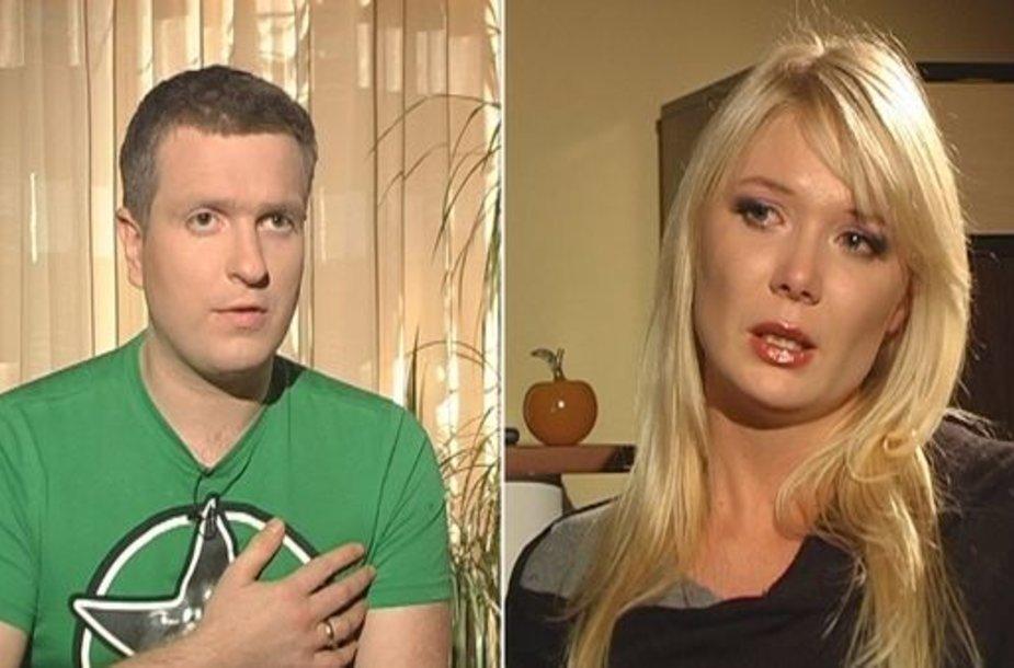 Deivydas ir Natalija Zvonkai