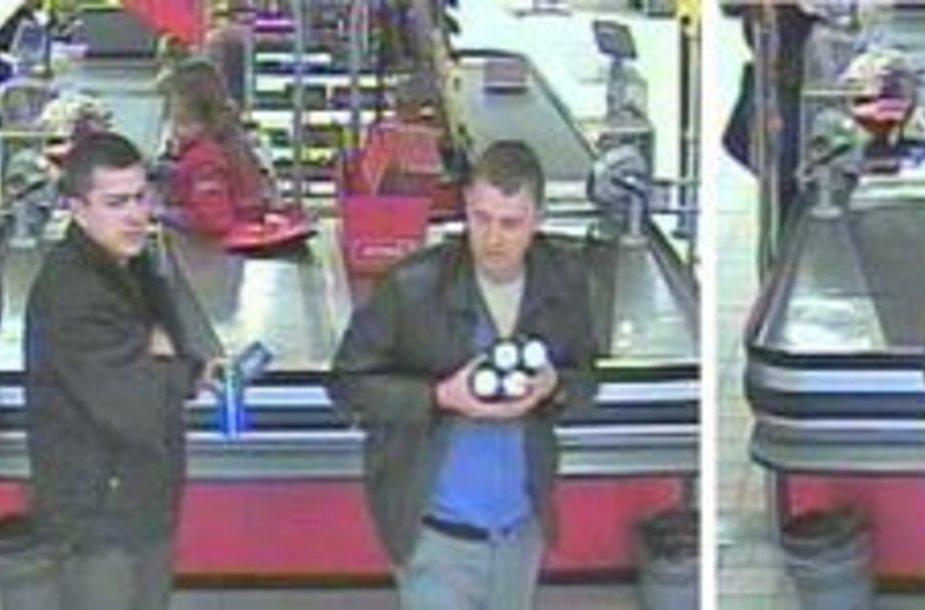 Policija prašo padėti atpažinti nuotraukose esančius asmenis.