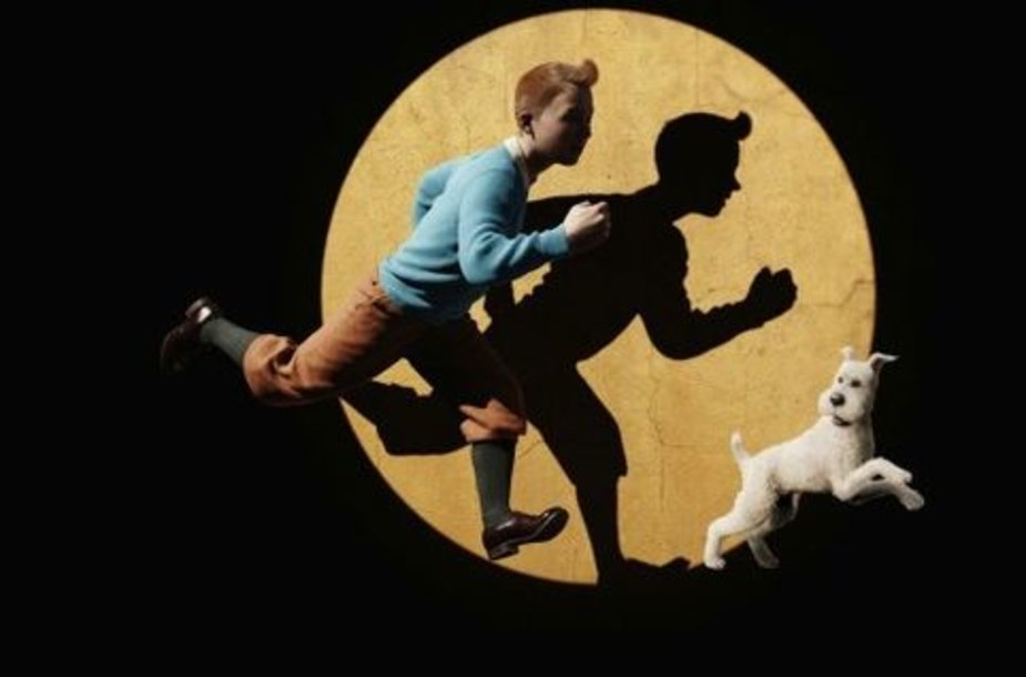 """Kadras iš filmo """"Tintino nuotykiai: Vienaragio paslaptis"""""""