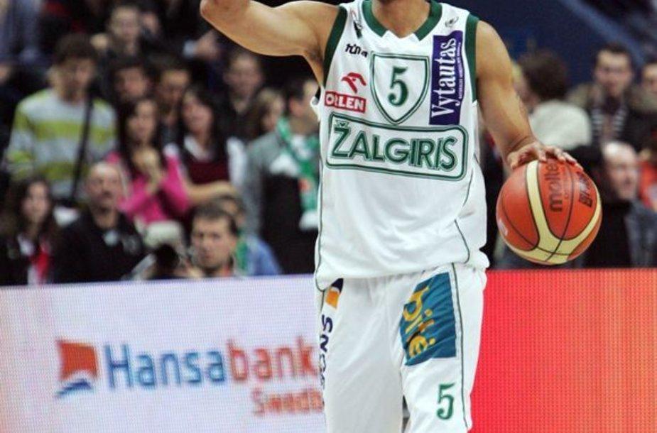 M.Brownas praėjusiame sezone buvo išrinktas naudingiausiu LKL finalinės serijos krepšininku.
