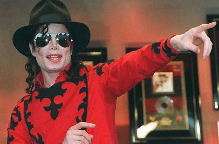 Popžvaigždė Michaelas Jacksonas