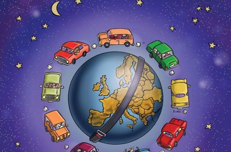 """Europos naktis be avarijų"""