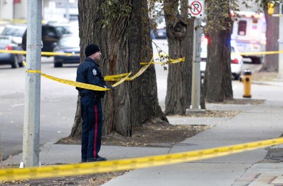 Įkaitų drama Edmontone