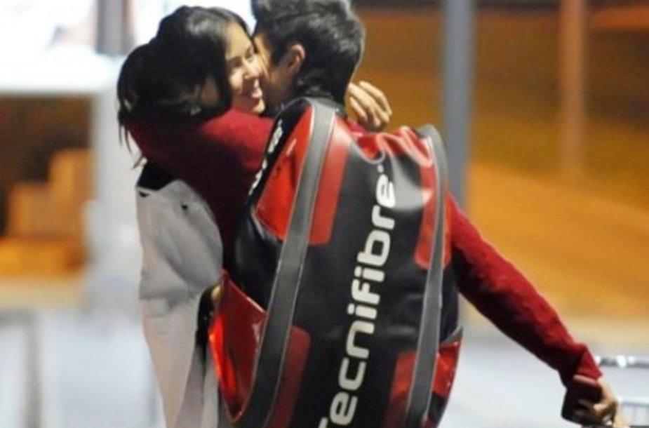 Ana Ivanovič ir Fernando Verdasco