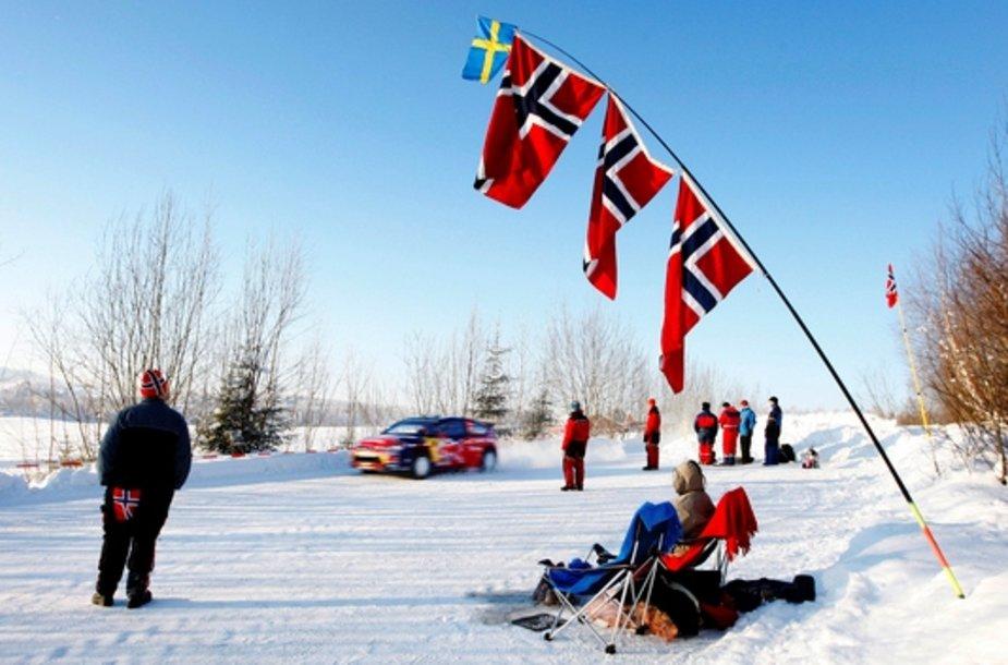 Norvegijos ralis prasidėjo