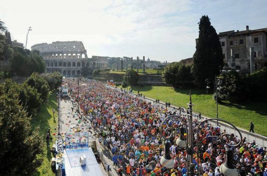 Romos maratonas