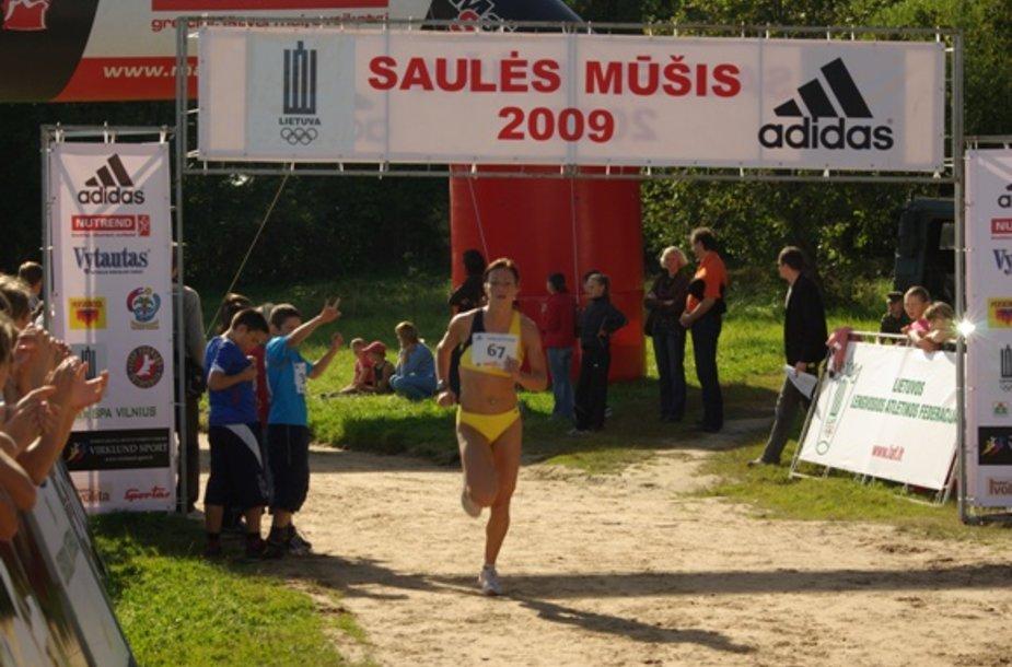Trasoje – olimpietė Rasa Drazdauskaitė