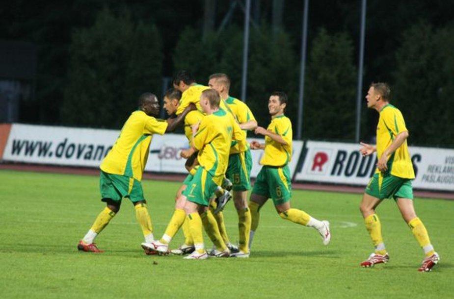 Lietuvos klubas pirmą kartą tapo stipriausiu Baltijos šalyse