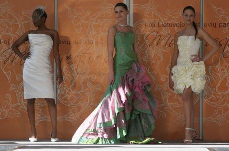 Naujausios nuotakų suknelių tendencijos