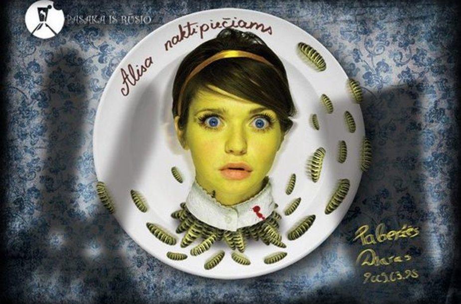 """Pagal """"Pasakos iš rūsio"""" receptą - Alisa naktipiečiams!"""