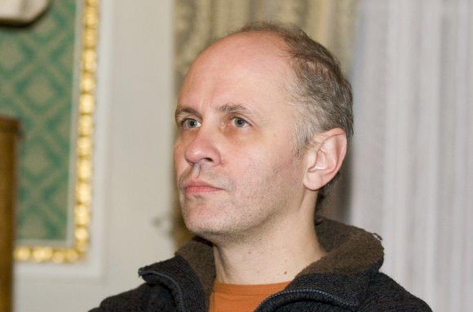 Kompozitorius Šarūnas Nakas