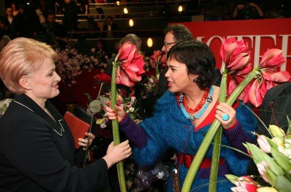Lietuvos metų moteris 2008 Dalia Grybauskaitė