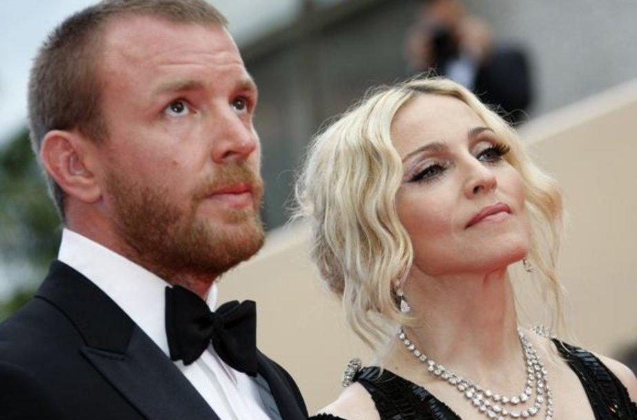 Madonna ir Guy'us Ritchie'is