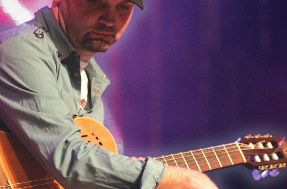 Gitaristas Martynas Kuliavas