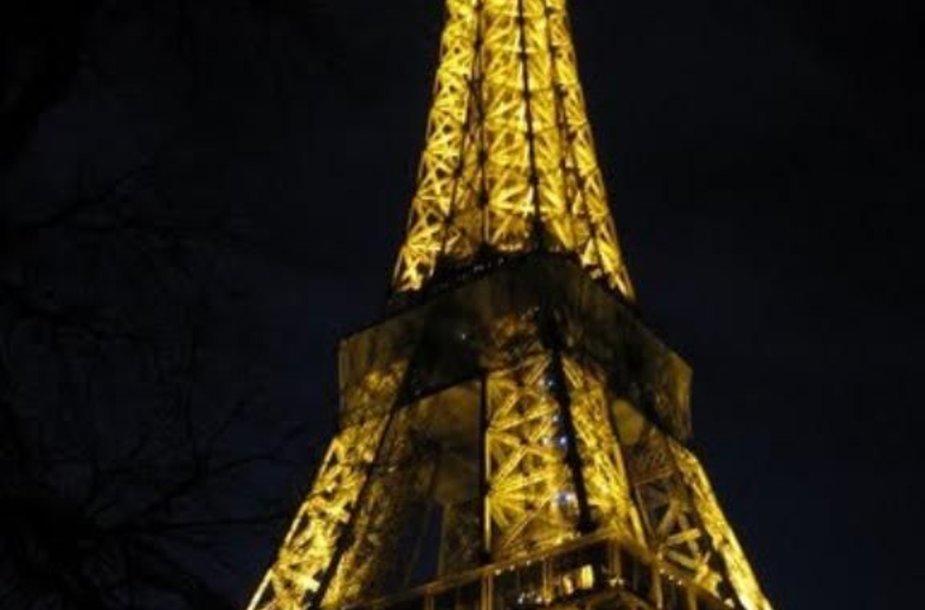 Visada puošnus Eifelio bokštas