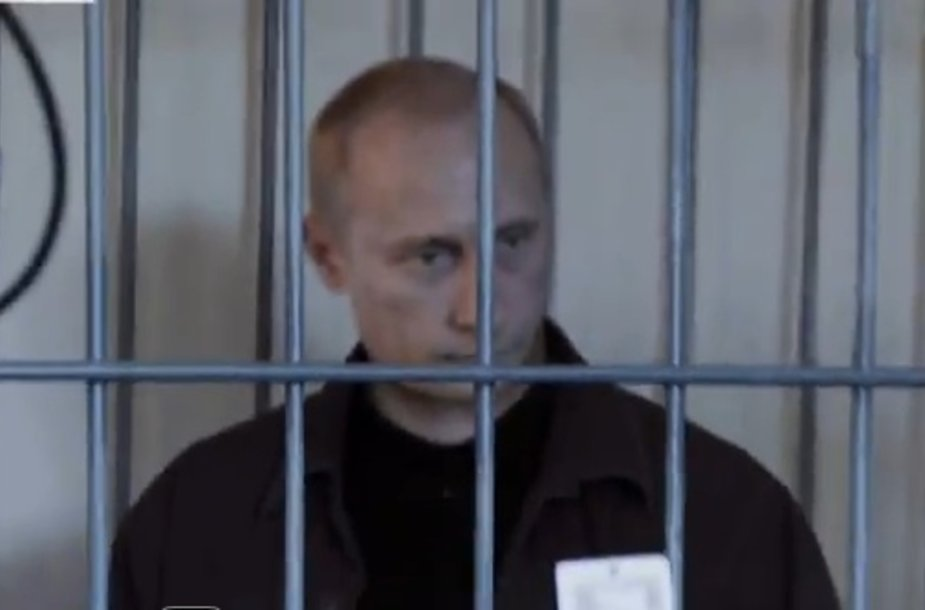 Internautų už grotų patupdytas V.Putinas