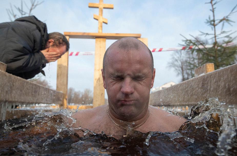 Viešpaties Krikšto šventės renginiuose Rusijoje dalyvavo daugiau kaip 2,4 mln. žmonių.