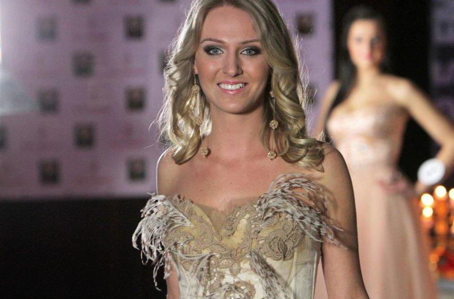 Mis Šiaulių studentės 2011 rinkimų nugalėtoja