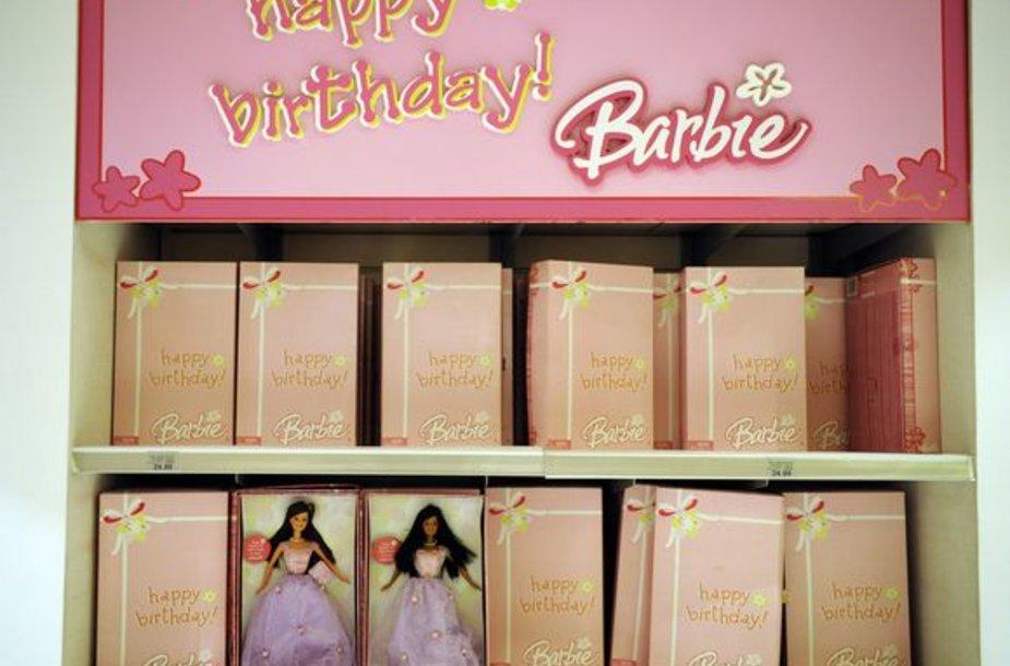Lėlė Barbė švenčia 50-metį.
