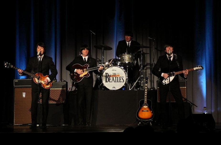 """Į Vilnių atvyksta """"The Beatles"""" antrininkai – Liverpulio grupė """"The Cavern Beatles""""."""
