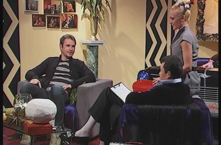"""""""TV šeško"""" laidoje – Mikutavičiaus kelionės įspūdžiai, pasibaigę narkologiniame dispanseryje."""