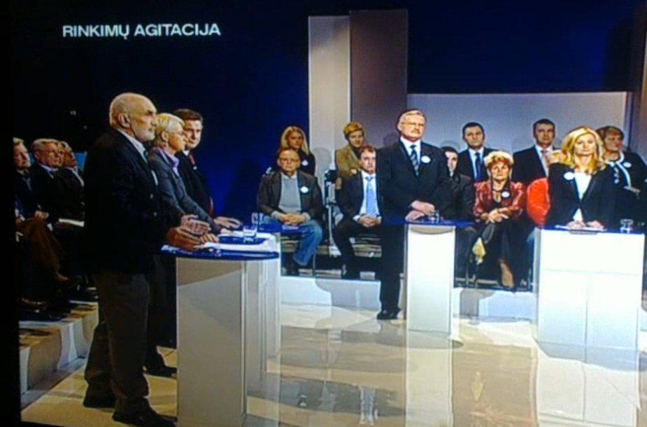 """Tiesioginė LRT laida """"Seimo rinkimai 2012"""""""
