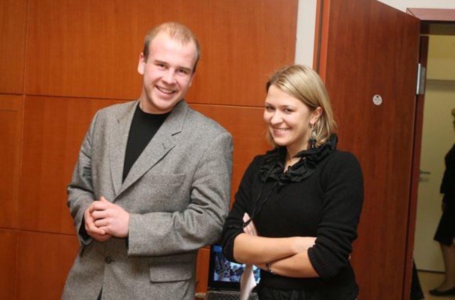 """G.Zabukaitė sako, kad iš visų projektų jai svarbiausias yra """"Kino pavasaris""""."""