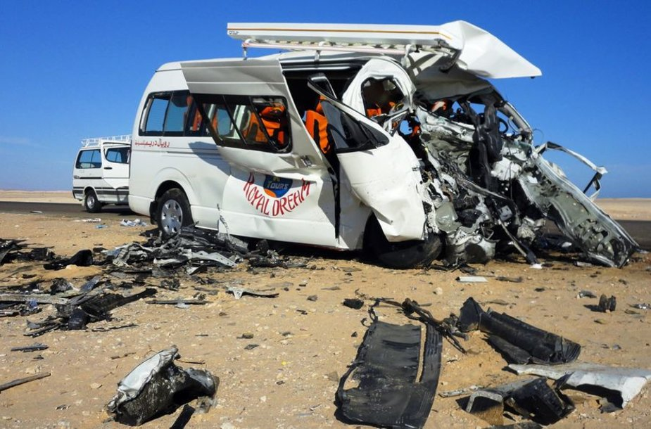 Autobuso avarija Egipte