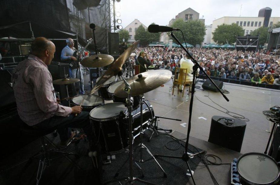 Vasara Klaipėdoje prasidės džiazu.