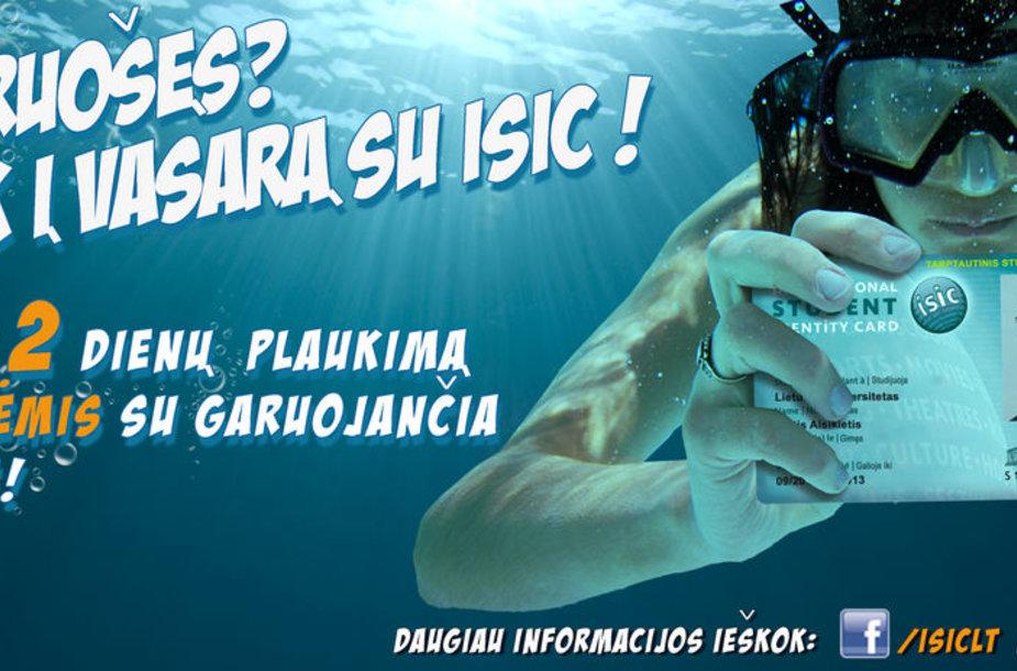 Nerk į vasarą su ISIC!